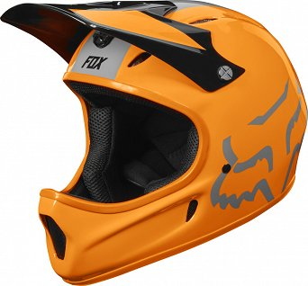 KASK ROWEROWY FOX RAMPAGE ATOMIC ORANGE