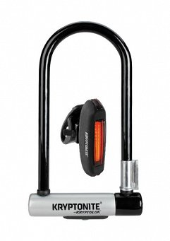 Zapięcie U-LOCK KRYPTONITE KRYPTOLOK STD + lampa tylna AVENUE R-20